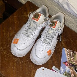 """30th year anniversary """"just do it"""" Air Force 1s"""